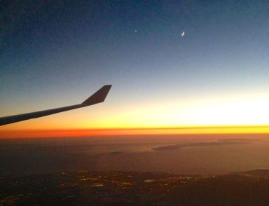 Flaying back home, over the Channel Islands, Santa Barbara, CA.