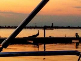 Venice sunset.