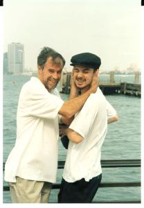 Papa & John - NYC 1999