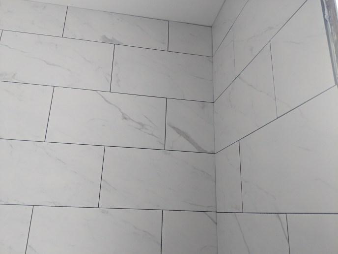 New tiles installed