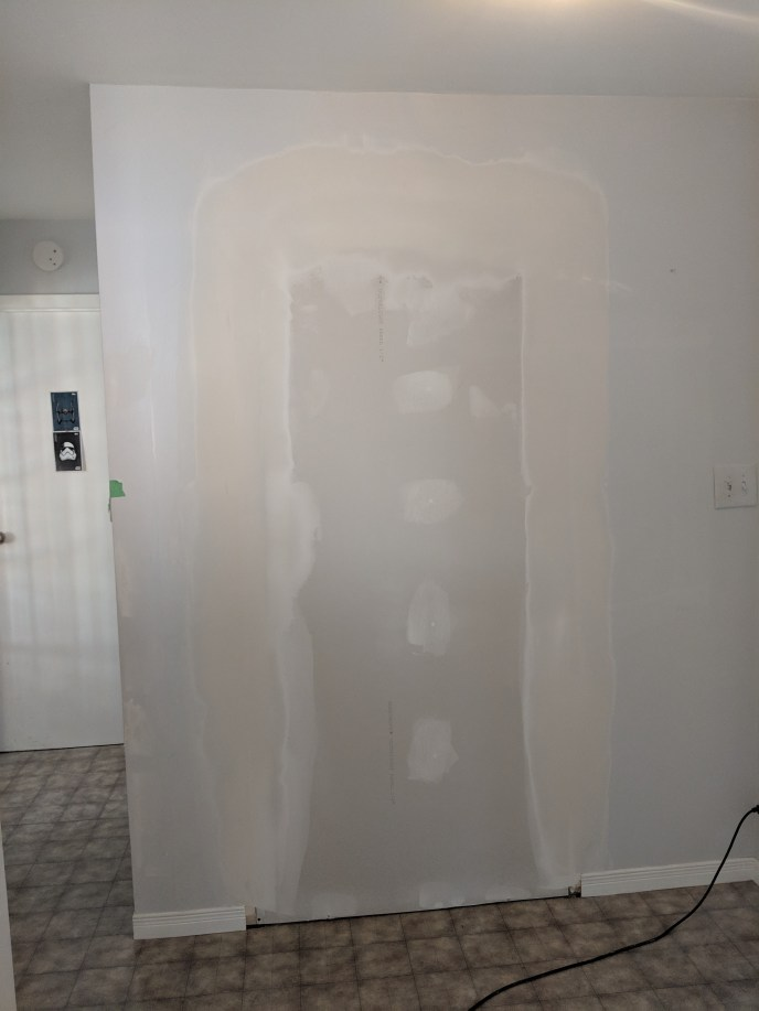 Doorway turned into a sound proof wall