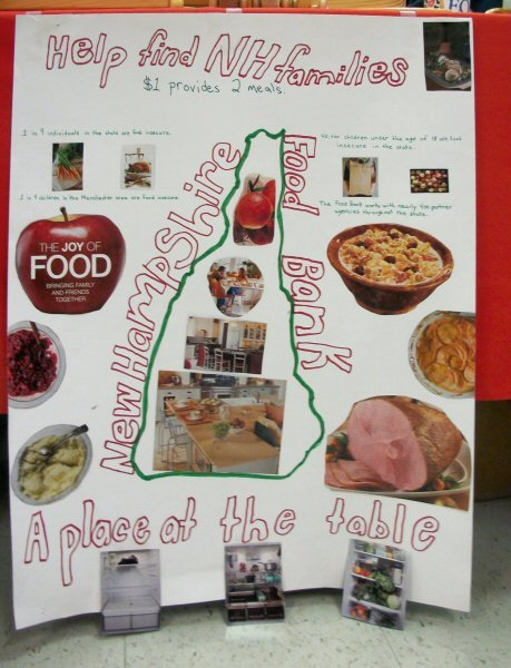 Holiday Stroll Food Pantry poster