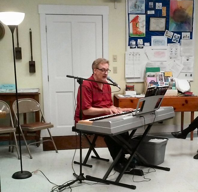 Dave is wonderfully talented on the piano