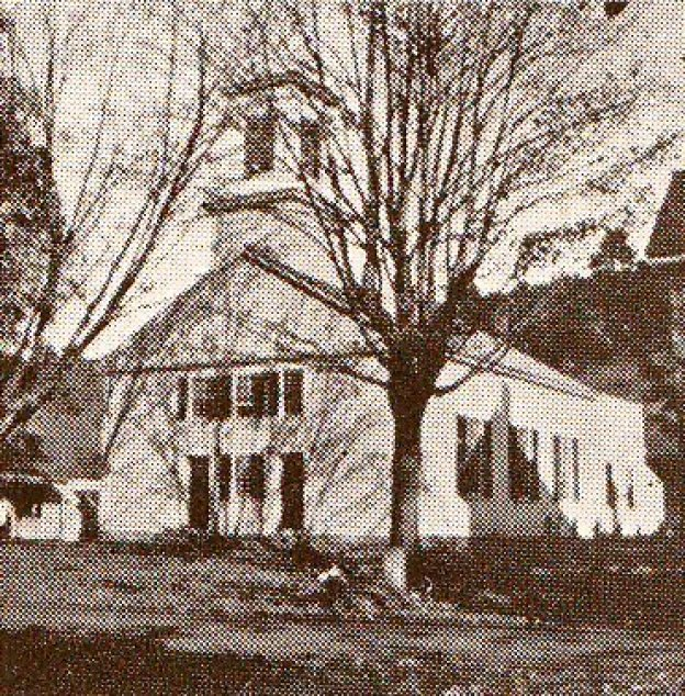 Old church photo, before power?