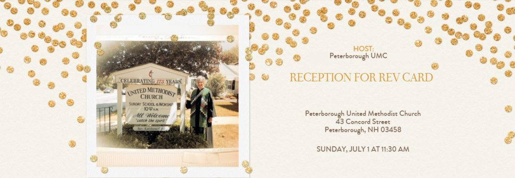 Reception for Rev Card