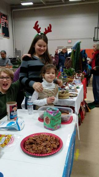 Fundraising for the Food Pantry