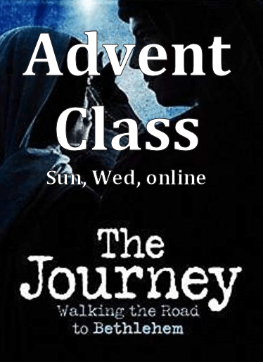 Advent Class - The Journey
