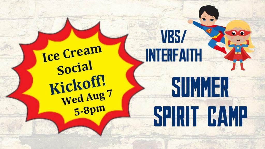 Ice Cream Social Kickoff