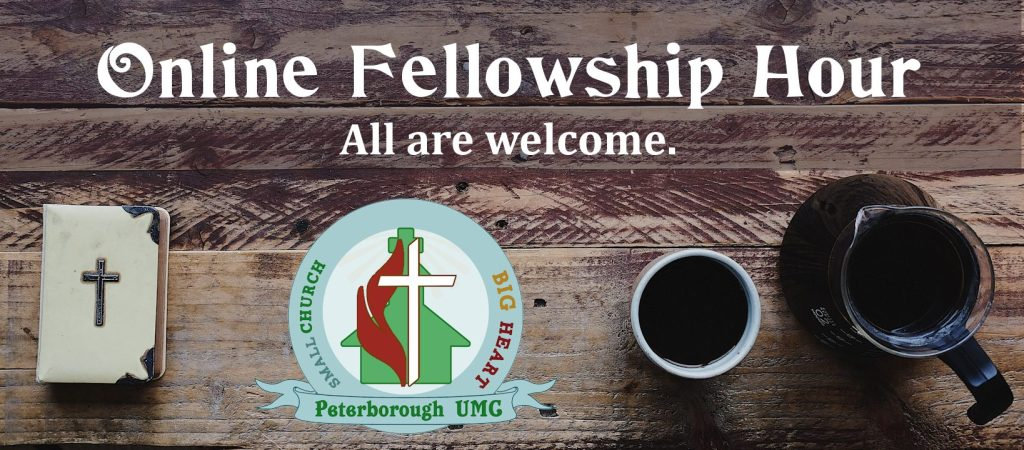 Online fellowship hour at PUMC NH