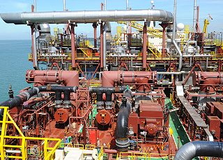 Peter Brotherhood Steam Turbines on a FPSO
