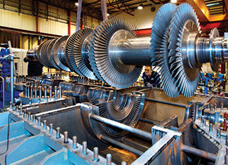 Steam Turbine Rotor Assembly