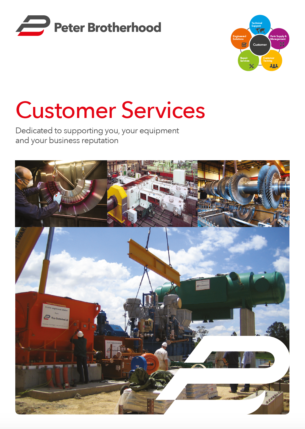 Customer Services for Steam Turbines, Compressors, CHP Units and Gearboxes