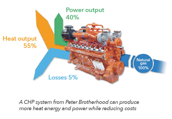 Peter Brotherhood CHP Solution Energy Savings