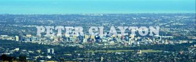 AUSTRALIA - ADELAIDE - PANORAMA SKYLINE #1 R2