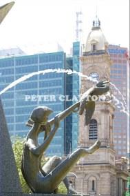 AUSTRALIA - ADELAIDE - VICTORIA SQUARE FOUNTAIN #2 R4