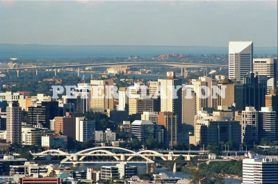 AUSTRALIA - BRISBANE - CITY FROM MT COOTHA R4  (5)