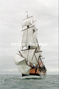 TALL SHIP - 'ENDEAVOUR' REPLICA #1 R4