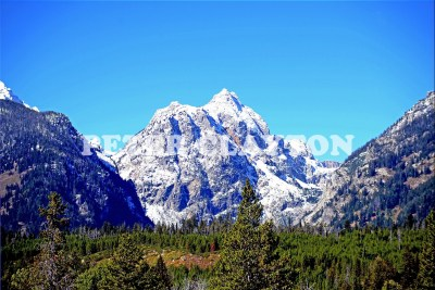 TETON MTNS - WYOMING USA  #5 R4