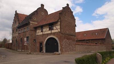 Het Fabritiushuis in de buurtschap Wolfhagen