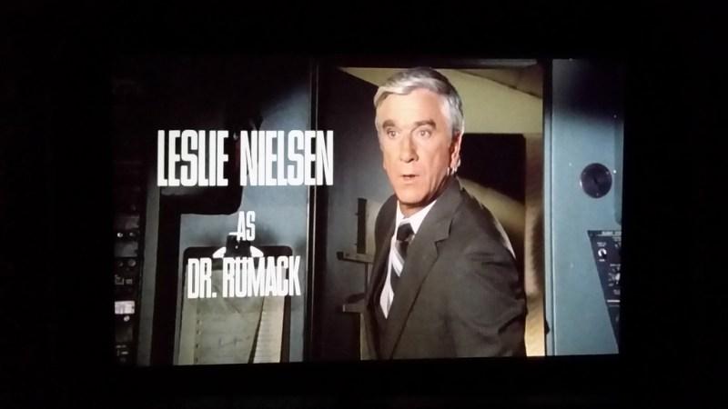 Leslie Nielsen in Airplane