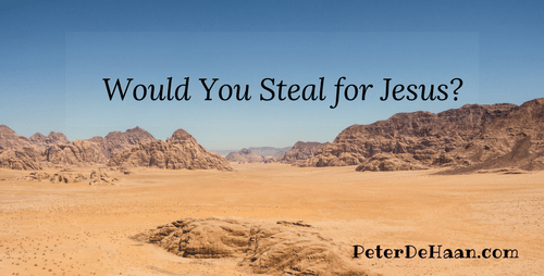 Would You Steal for Jesus?