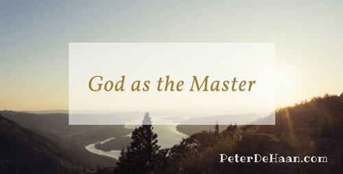 God as the Master