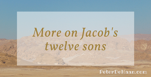 More on Jacob's Twelve Sons