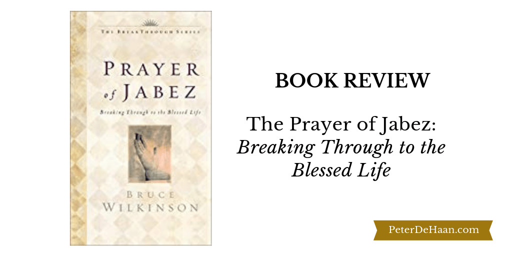 Book Review: The Prayer of Jabez
