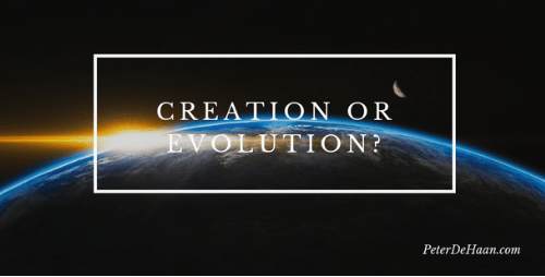 In the Beginning, God Created…