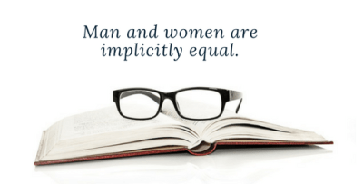 Gender Equality in the Bible