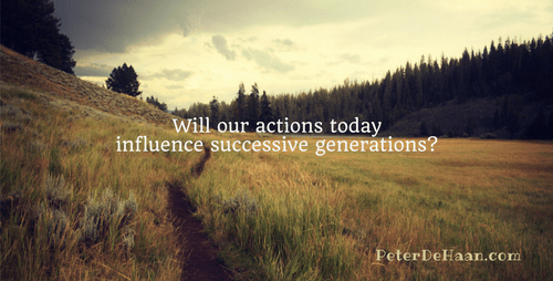 Pass it On: Influencing Future Generations