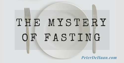 The Mystery of Fasting