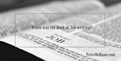 When Was the Book of Job Written?