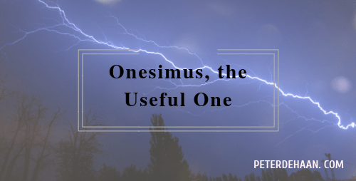 Onesimus, the Useful One