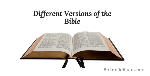 Different Versions of the Bible