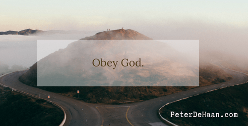 Obey God Regardless: Paul Speaks to the Elders in Ephesus