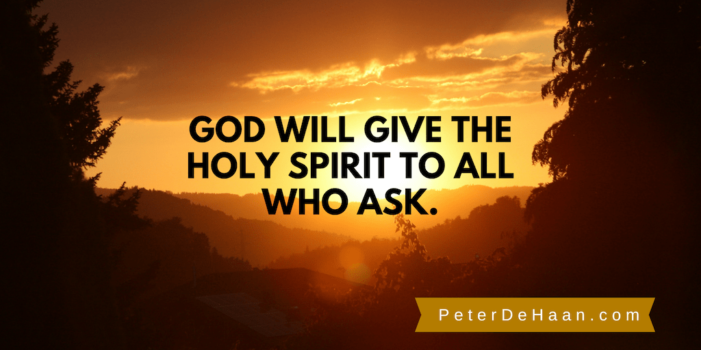 Pray for the Holy Spirit