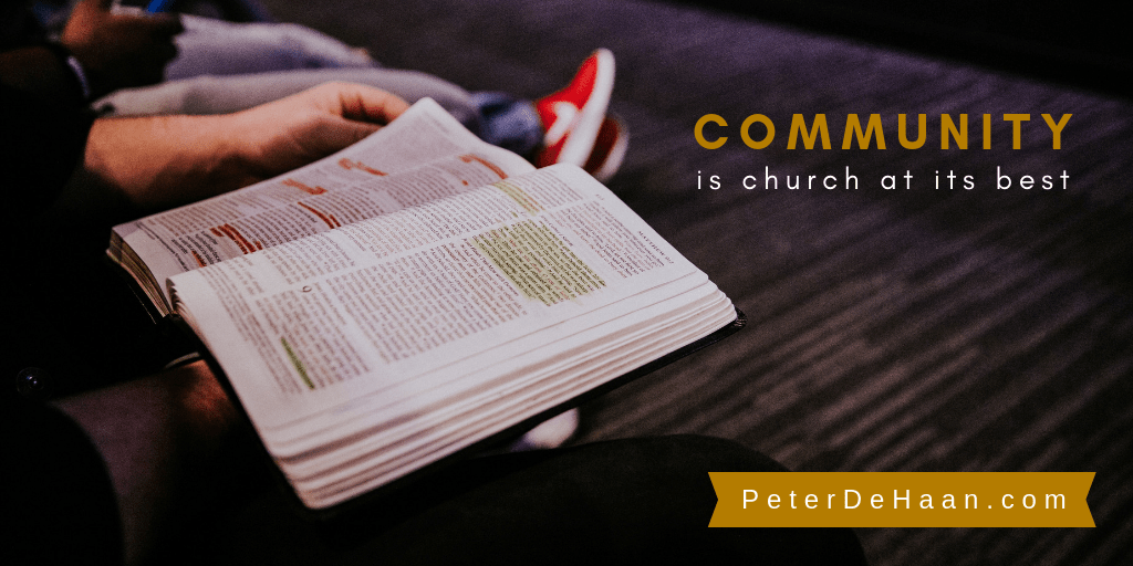 Why is Community Important at Church?