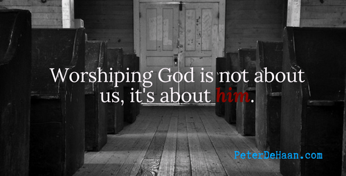 Why Do We Worship God?
