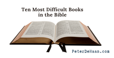 Ten Most Difficult Books in the Bible