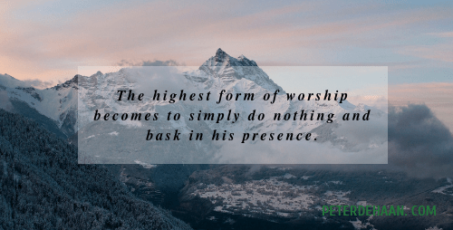 Have You Ever Been Overwhelmed by the Glory of God?