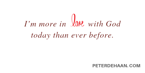 Do You Feel in Love With God?