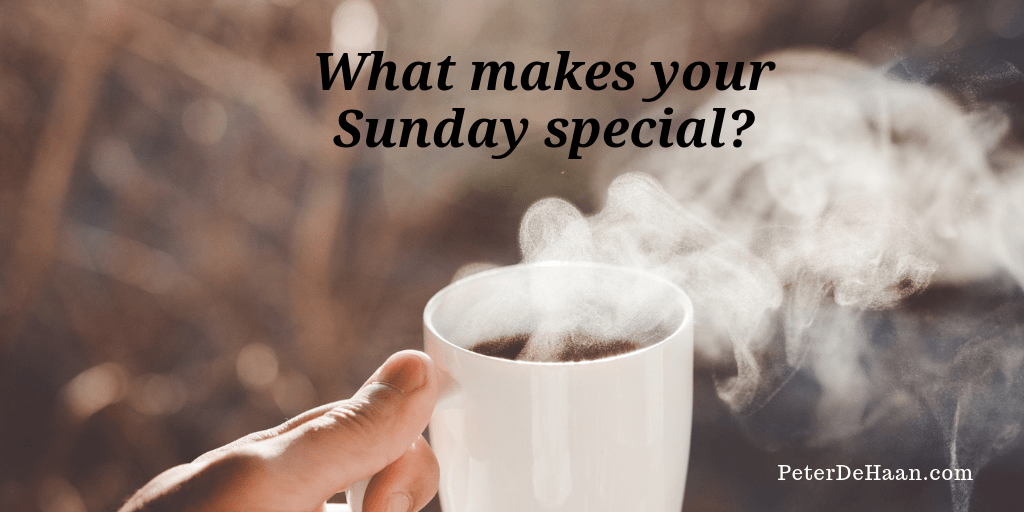 What Should Sunday Look Like?