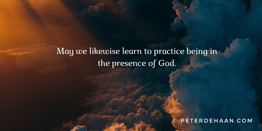 Being in God's Presence