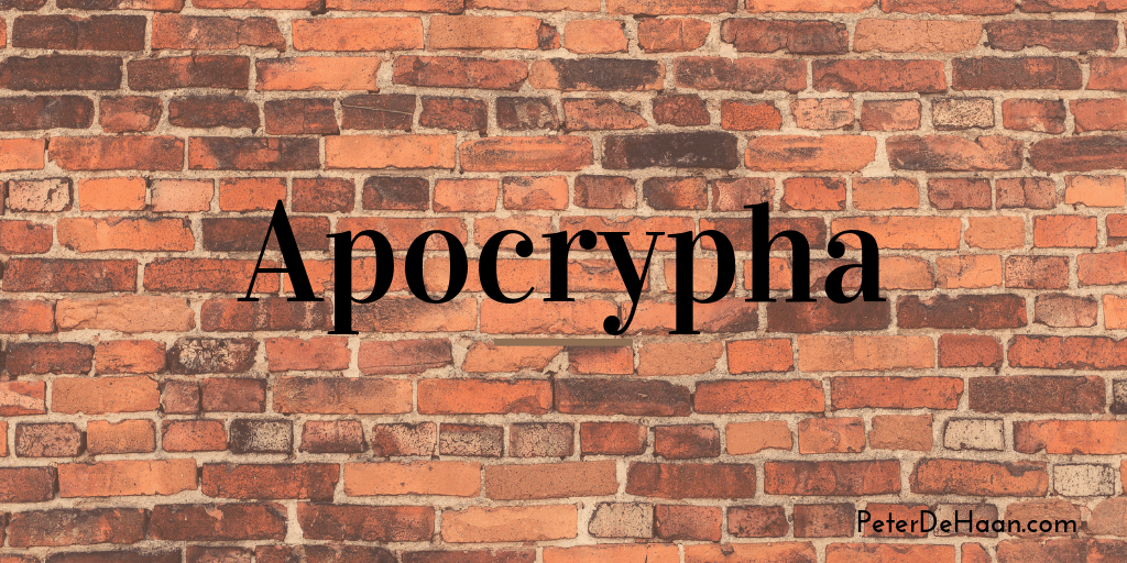 Celebrating the Apocrypha