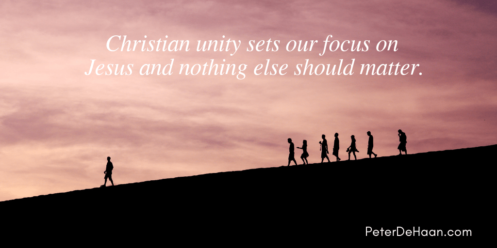 What Does Christian Unity Mean To You?