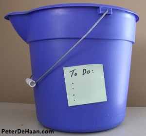 What Does Your Bucket List Say About You?