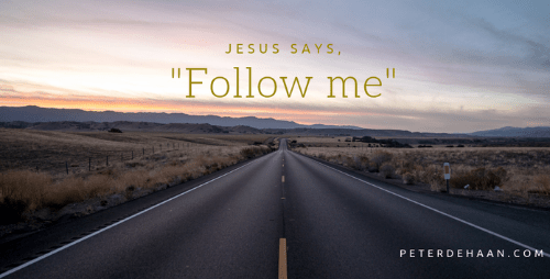 "The Simplicity of Faith: Jesus Says ""Follow Me"""