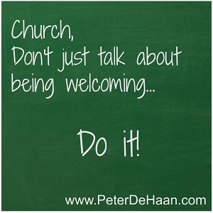 Are Visitors Welcome at Your Church?