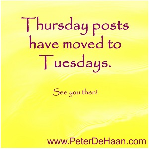 Thursday Morning Bible Posts Have Moved to Tuesday